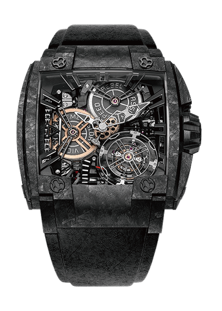 MAGNUM 540  GRAND TOURBILLONCARBON FORGED時計を見る